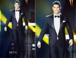 Cristiano Ronaldo In Dsquared² - FIFA Ballon d'Or Gala 2012