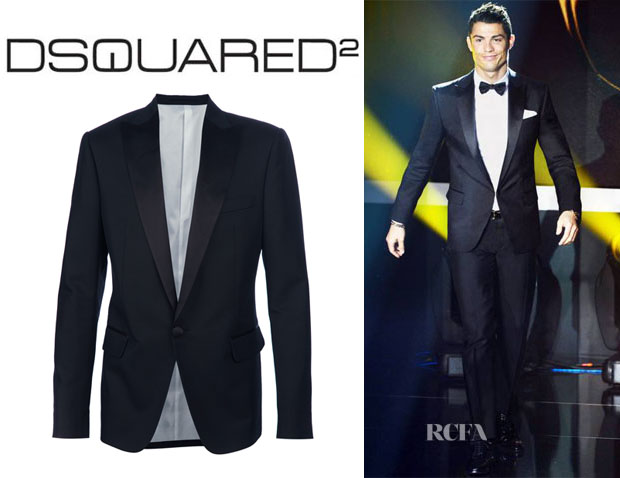 Cristiano Ronaldo's Dsquared² Smoking Suit Jacket