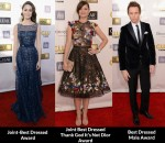 Fashion Critics' Critics' Choice Movie Awards Round Up