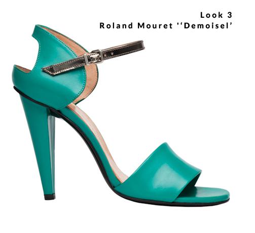 Look 3 - Roland Mouret ''Demoisel'