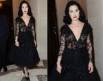 Dita von Teese In Elie Saab - Elie Saab Couture Fashion Week After Party