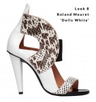 Look 8 - Roland Mouret 'Dolls White'