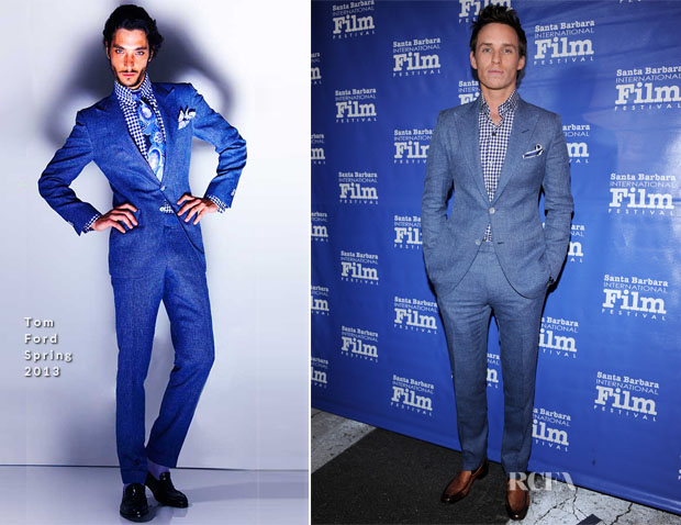 Eddie Redmayne In Tom Ford - 28th Santa Barbara International Film Festival's Virtuoso Award Ceremony