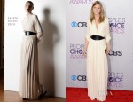 Ellen Pompeo In Lanvin - 2013 People's Choice Awards