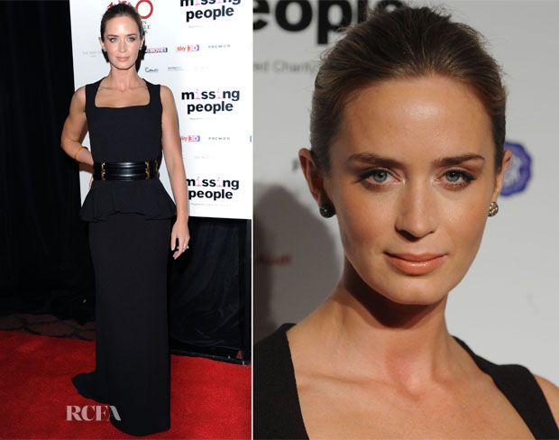 Emily Blunt In Alexander McQueen - 2013 London Film Critics Circle Film Awards