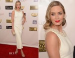 Emily Blunt In Miu Miu - 2013 Critics' Choice Movie Awards