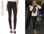 Emily Blunt's Goldsign 'Lure' Skinny Jeans