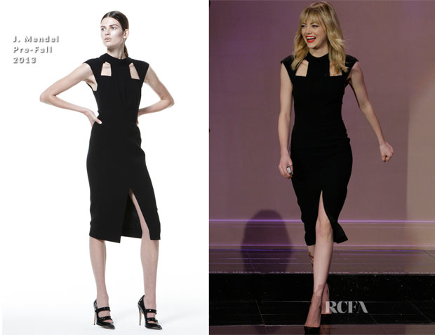 Emma Stone In J Mendel - The Tonight Show with Jay Leno