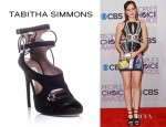 Emma Watson's Tabitha Simmons Bailey Suede Sandals