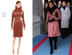Eva Longoria In Bally - Ceremonial Inauguration For U.S. President Barack Obama