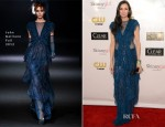 Famke Janssen In John Galliano - 2013 Critics' Choice Movie Awards