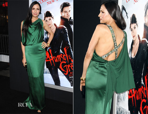 Famke Janssen In Temperley London - 'Hansel & Gretel Witch Hunters' LA Premiere
