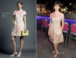 Felicity Jones In Valentino - 'Cheerful Weather for the Wedding' London Screening