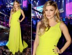 Fergie In Oliver Tolentino - Dick Clark's New Year's Rockin' Eve With Ryan Seacrest 2013