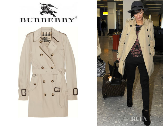Frankie Sandford's Burberry London Trench Coat