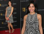 Freida Pinto In Cue by Rohit Gandhi + Rahul Khanna - 2013 BAFTA Los Angeles Awards Season Tea Party