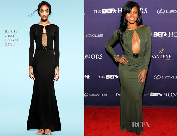 Gabrielle Union In Emilio Pucci (Resort 2013)  - BET Honors 2013