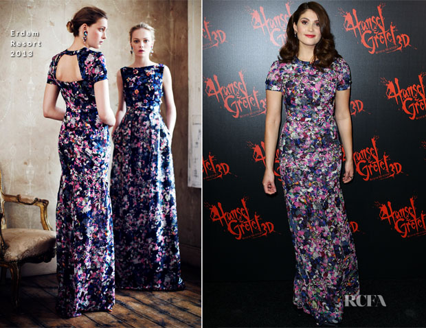 Gemma Arterton In Erdem - 'Hansel & Gretel Witch Hunters' Sydney Premiere