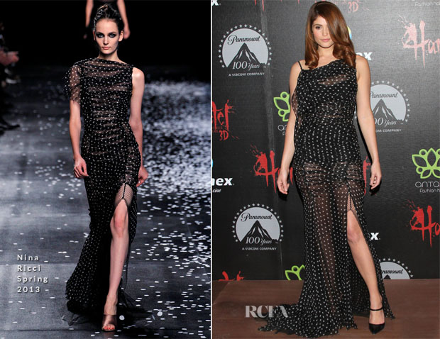 Gemma Arterton In Nina Ricci - 'Hansel and Gretel Witch Hunters' Mexico Premiere