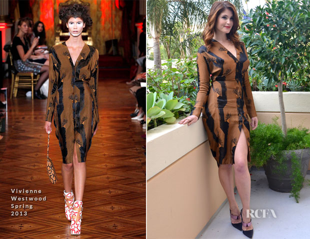 Gemma Arterton In Vivienne Westwood - 'Hansel and Gretel Witch Hunters' LA Press Conference