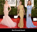 Fashion Critics' Golden Globe Awards Round Up