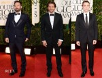 2013 Golden Globe Awards Menswear Red Carpet Round Up
