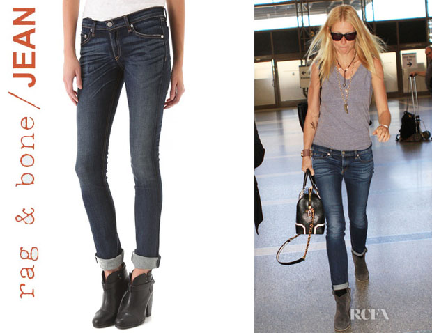 Gwyneth Paltrow's Rag & BoneJEAN The Cigarette Leg Jeans