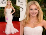 Hayden Panettiere In Roberto Cavalli - 2013 Golden Globe Awards