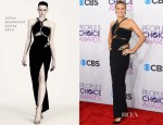 Heidi Klum In Julien Macdonald - 2013 People's Choice Awards