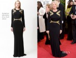 Helen Mirren In Badgley Mischka - 2013 Golden Globe Awards