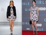 Hilary Rhoda In Tibi - 'Girls' Season 2 Premiere
