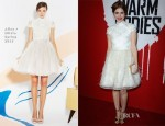Holland Roden In Alice + Olivia - 'Warm Bodies' LA Premiere