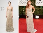 Isla Fisher In Reem Acra - 2013 Golden Globe Awards