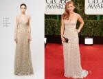 Isla Fisher In Reem Acra - 2013 Golden Globe Awards