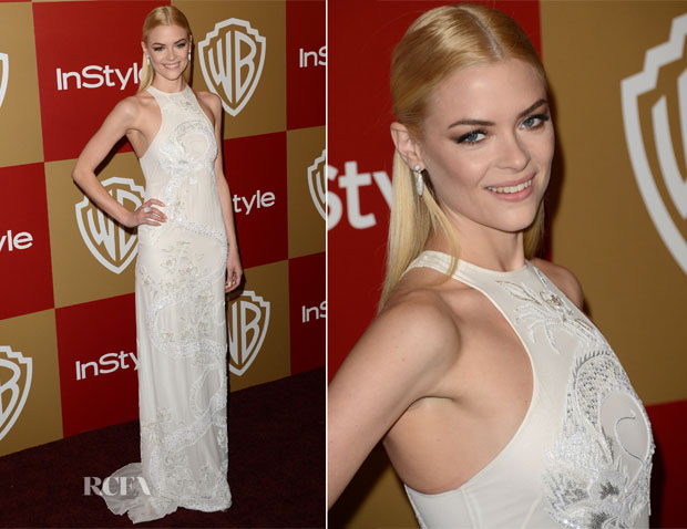 Jaime King In Emilio Pucci - Golden Globes Party