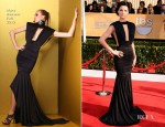 Jaimie Alexander In Marc Bouwer - 2013 SAG Awards