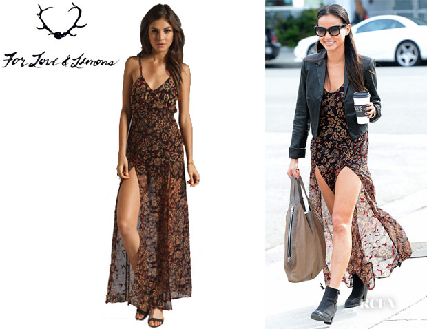 Jamie Chung's For Love & Lemons Morocco Maxi Dress
