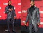Jamie Foxx In Calvin Klein - 'Django Unchained' Berlin Premiere