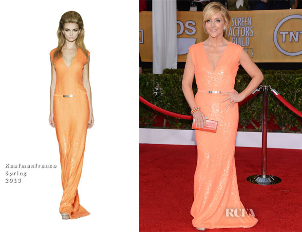 Jane Krakowski In Kaufmanfranco - 2013 SAG Awards