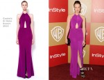 Jena Malone In Cushnie Et Ochs - Warner Bros. And InStyle Golden Globe Awards After Party