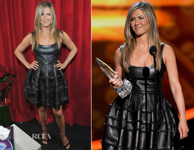 Jennifer Aniston In Christian Dior - 2013 People's Choice Awards