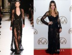 Jessica Alba In Elie Saab Couture - 2013 Producers Guild Awards