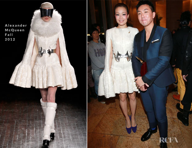 Joey Yung In Alexander McQueen - 2012 Annual Billboard Awards Presentation Ceremony