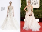 Julianne Hough In Monique Lhuillier - 2013 Golden Globe Awards