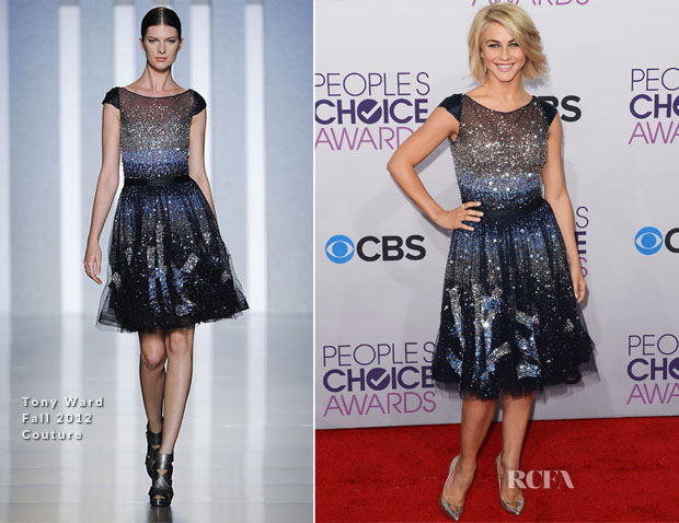 Julianne Hough In Tony Ward Couture - 2013 People's Choice Awards