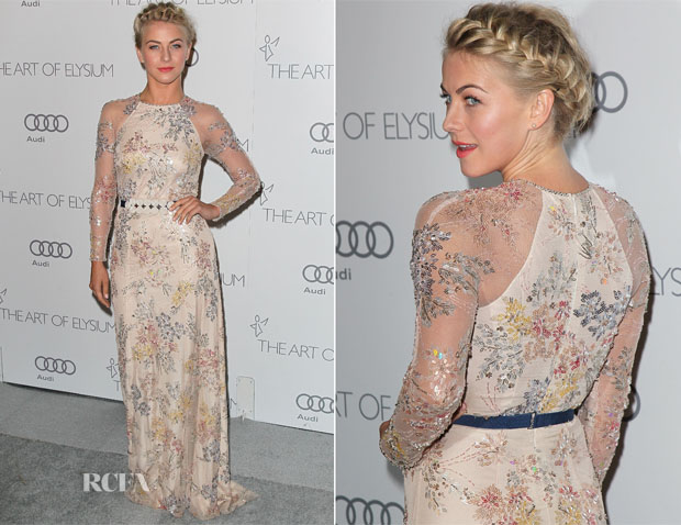 Julianne Hough in Jenny Packham - Art Of Elysium heaven gala