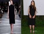 Julianne Moore In Givenchy - LoveGold Cocktail Party