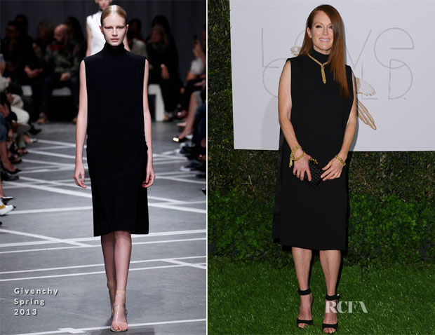 Julianne Moore In Givenchy - World Gold Council Cocktail Party