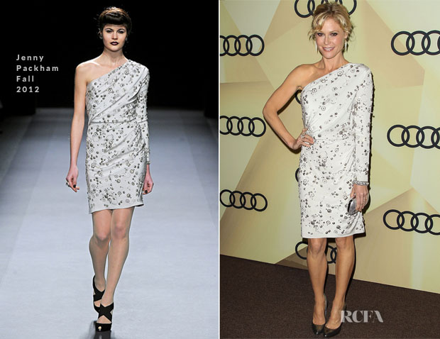 Julie Bowen In Jenny Packham - Audi Golden Globes 2013 Kick Off Party