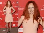 Juno Temple In Alexander McQueen - 'Lovelace' Sundance Film Festival Premiere